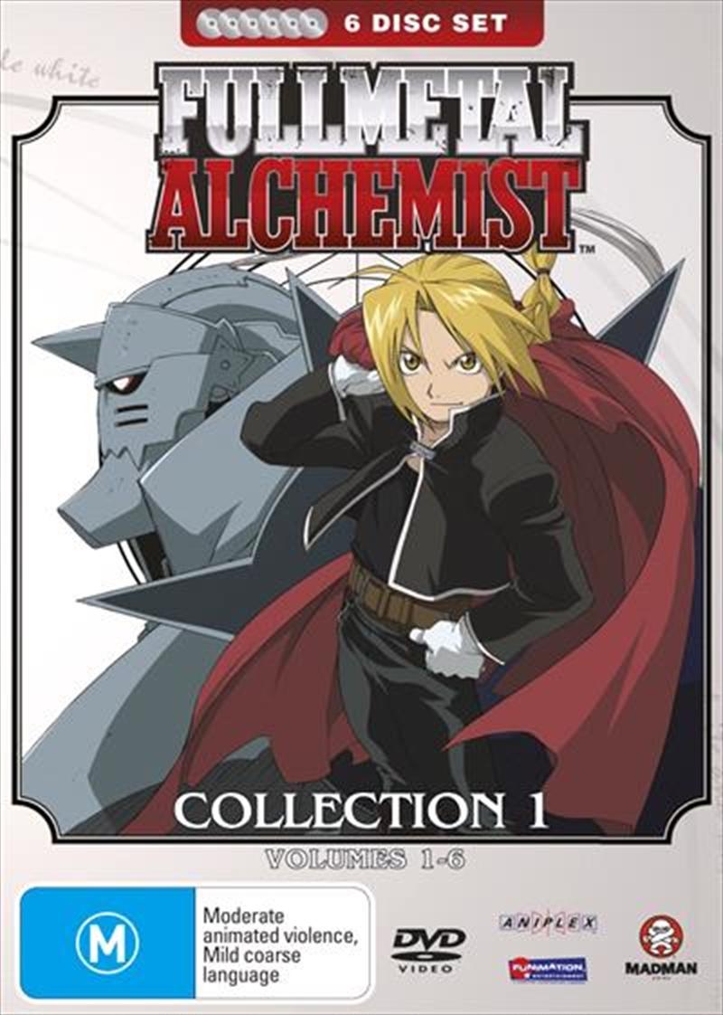 Full Metal Alchemist - Collection 1   DVD