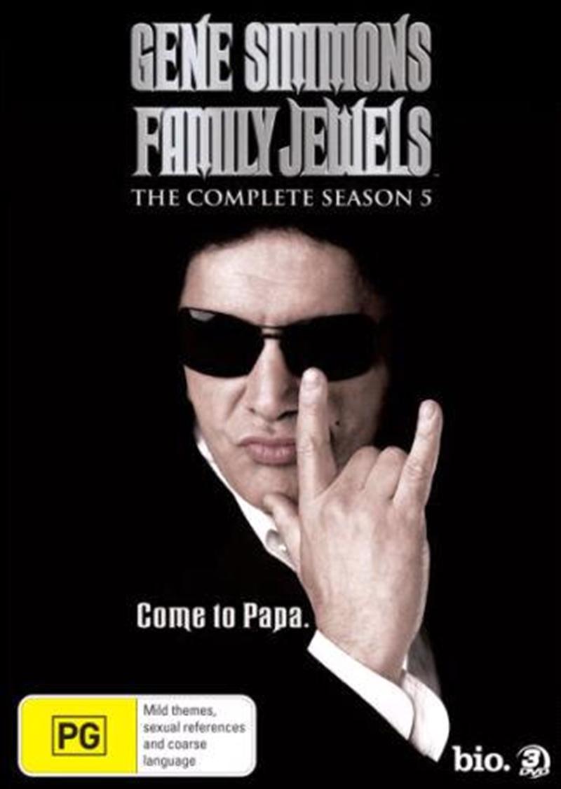 Gene Simmons' Family Jewels - Season 5 | Slimline | DVD