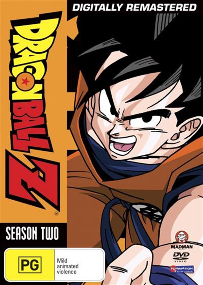 Dragon Ball Z - Remastered - Uncut Season 2 | DVD