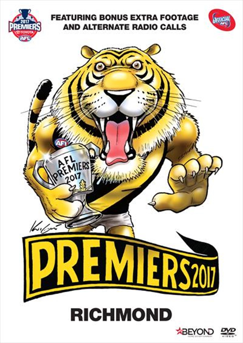 AFL - 2017 Premiers | DVD