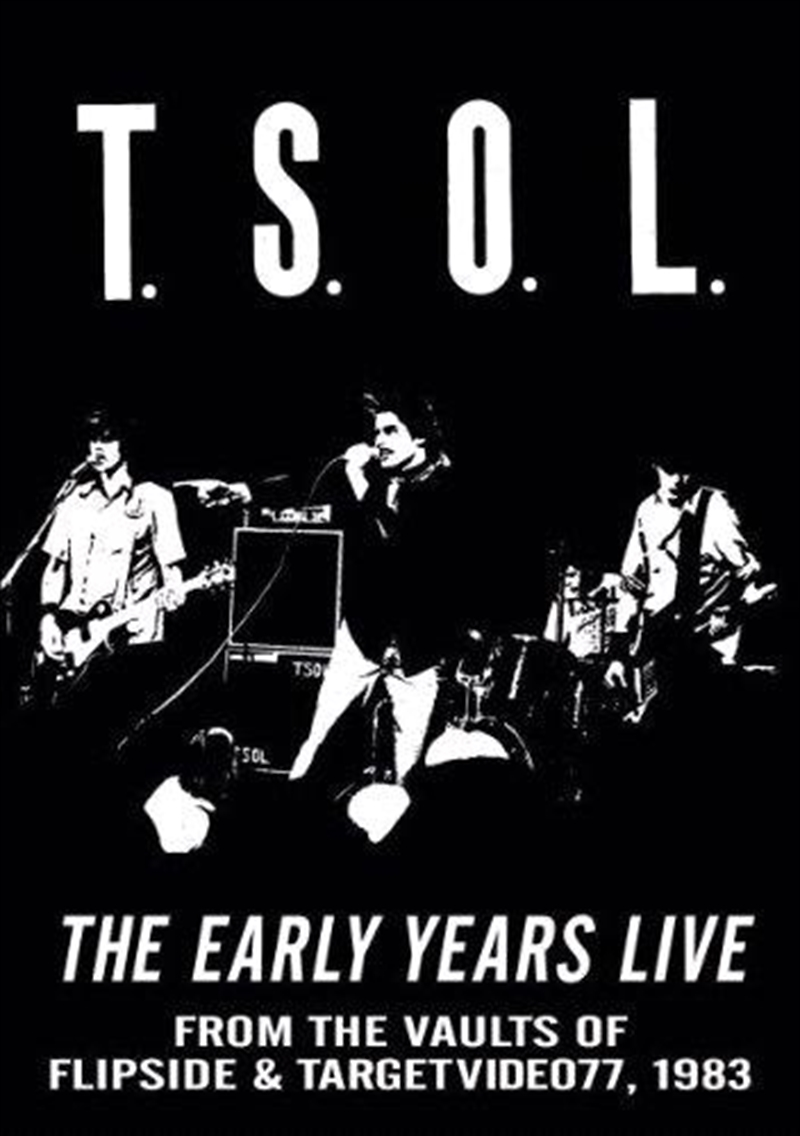 Early Years Live 1983 | DVD