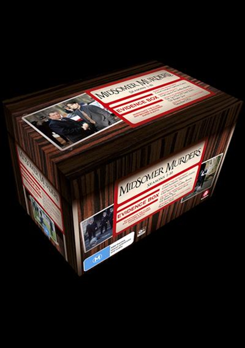Midsomer Murders - Case Files 1 - Season 1-10 | Boxset | DVD