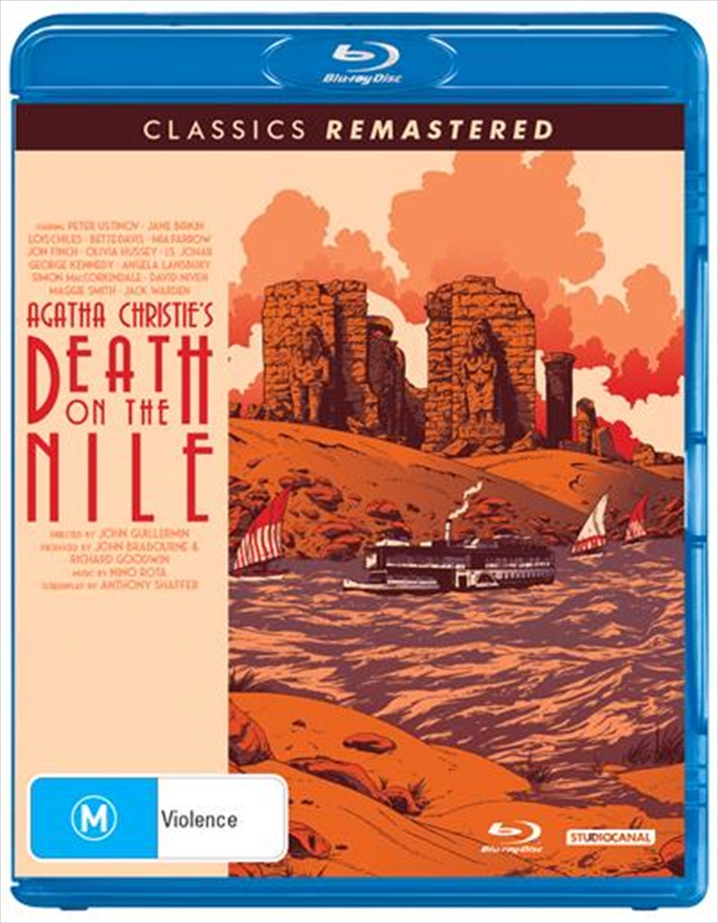 Death On The Nile | Blu-ray