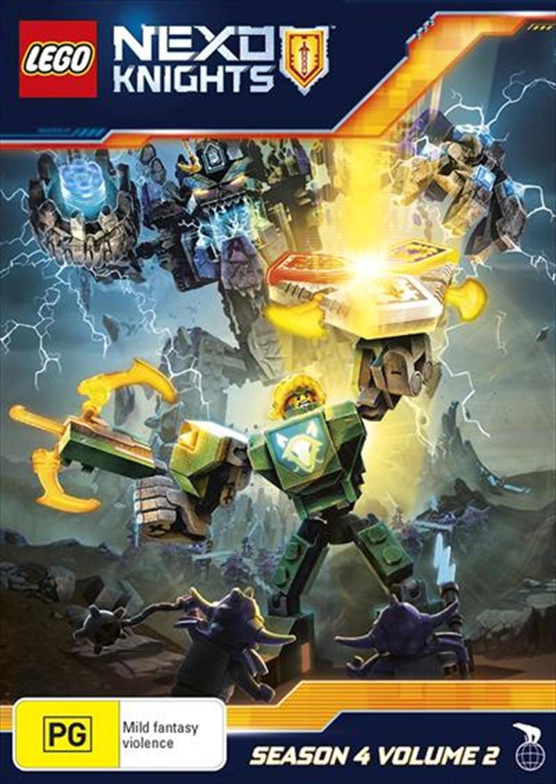 Lego Nexo Knights - Season 4 - Vol 2 | DVD