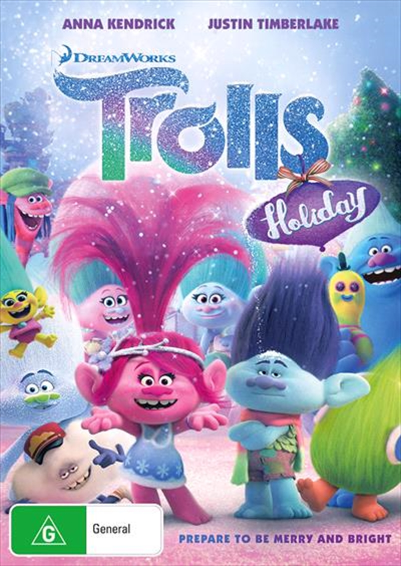 Trolls Holiday Animated Dvd Sanity
