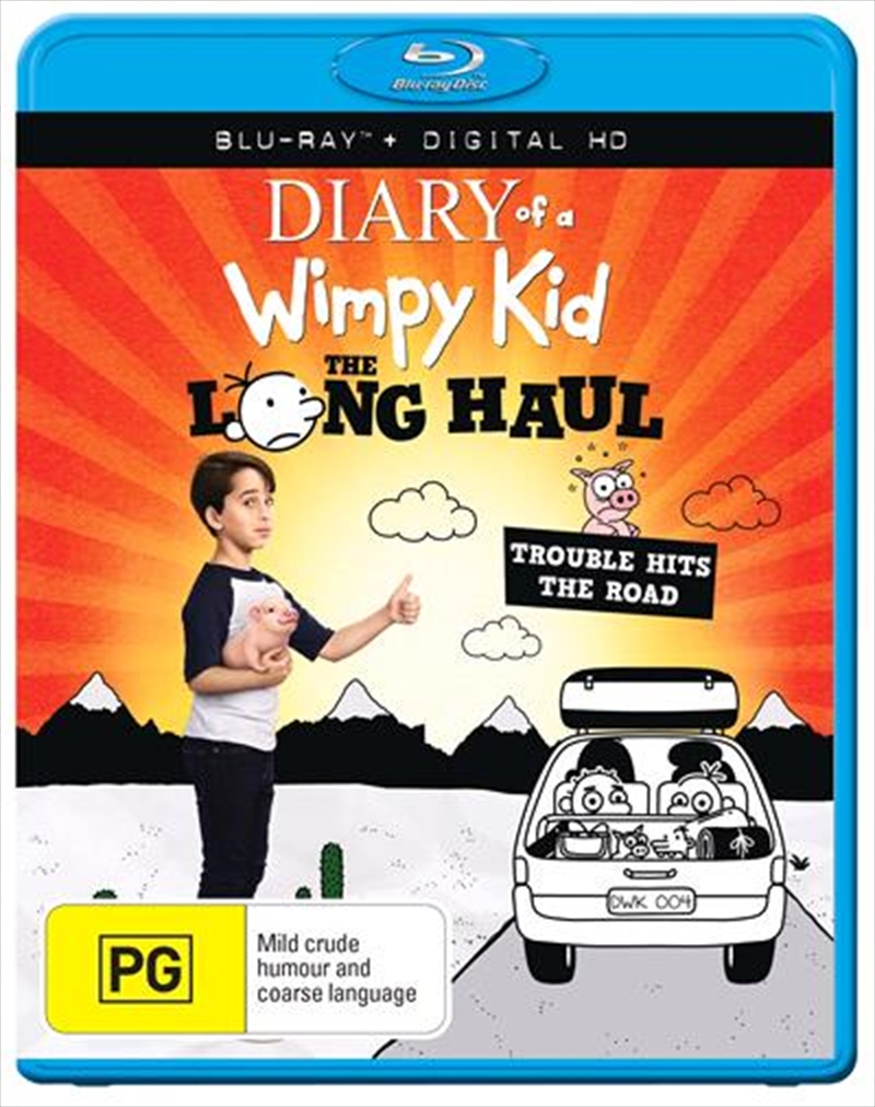 Diary Of A Wimpy Kid - The Long Haul | Blu-ray