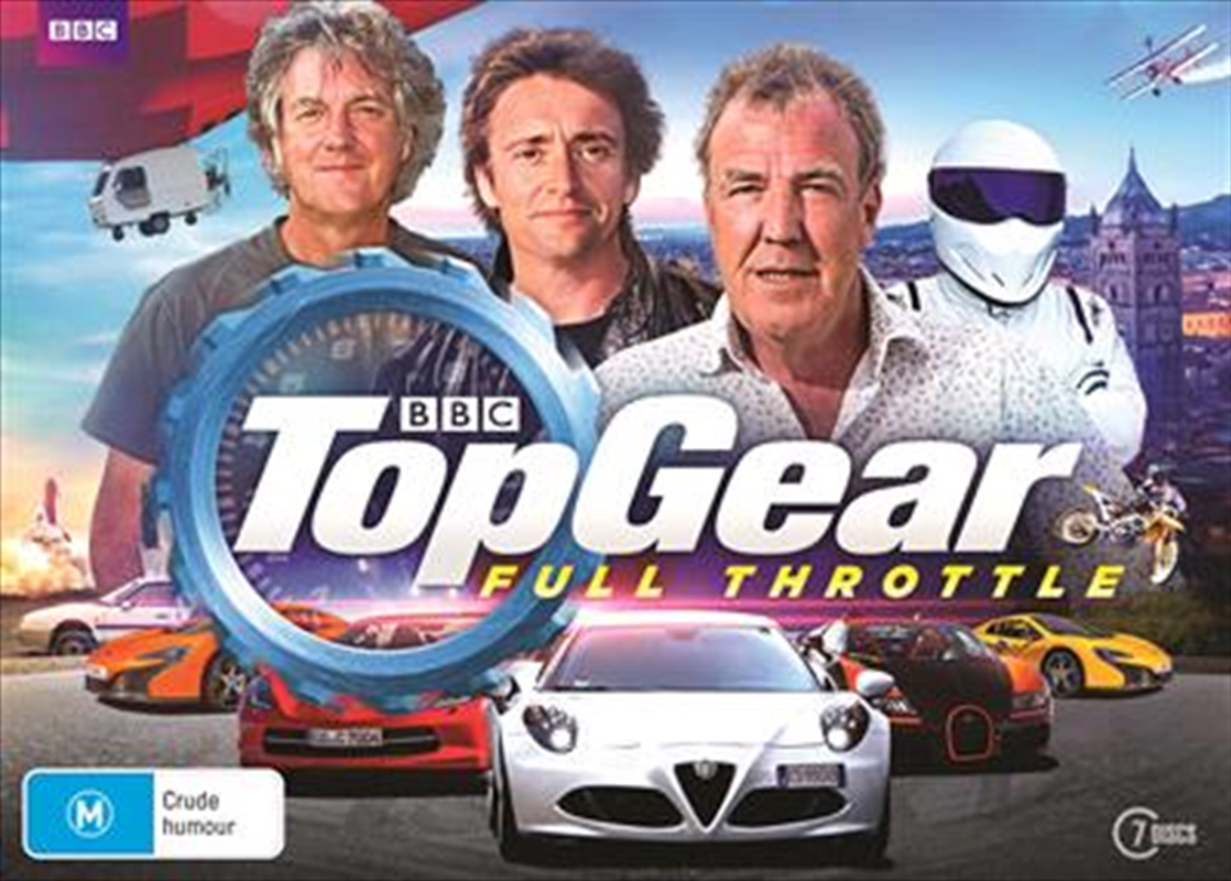 Top Gear - Full Throttle - Limited Edition Collection   DVD
