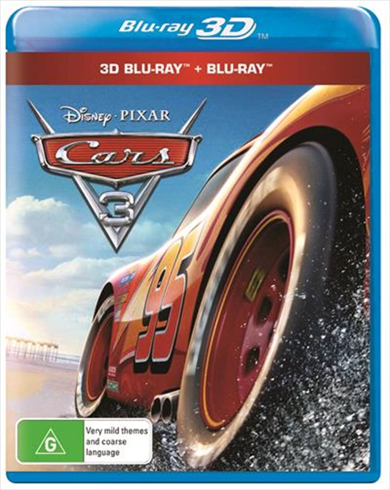 cars 3 3d 2d blu ray animated blu ray 3d sanity. Black Bedroom Furniture Sets. Home Design Ideas
