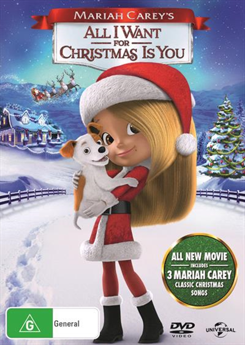 Mariah Carey's All I Want For Christmas Is You | DVD