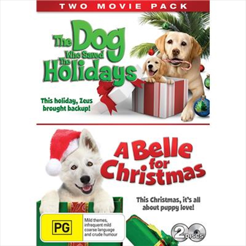 Dog Who Saved Holidays / A Belle For Christmas | DVD