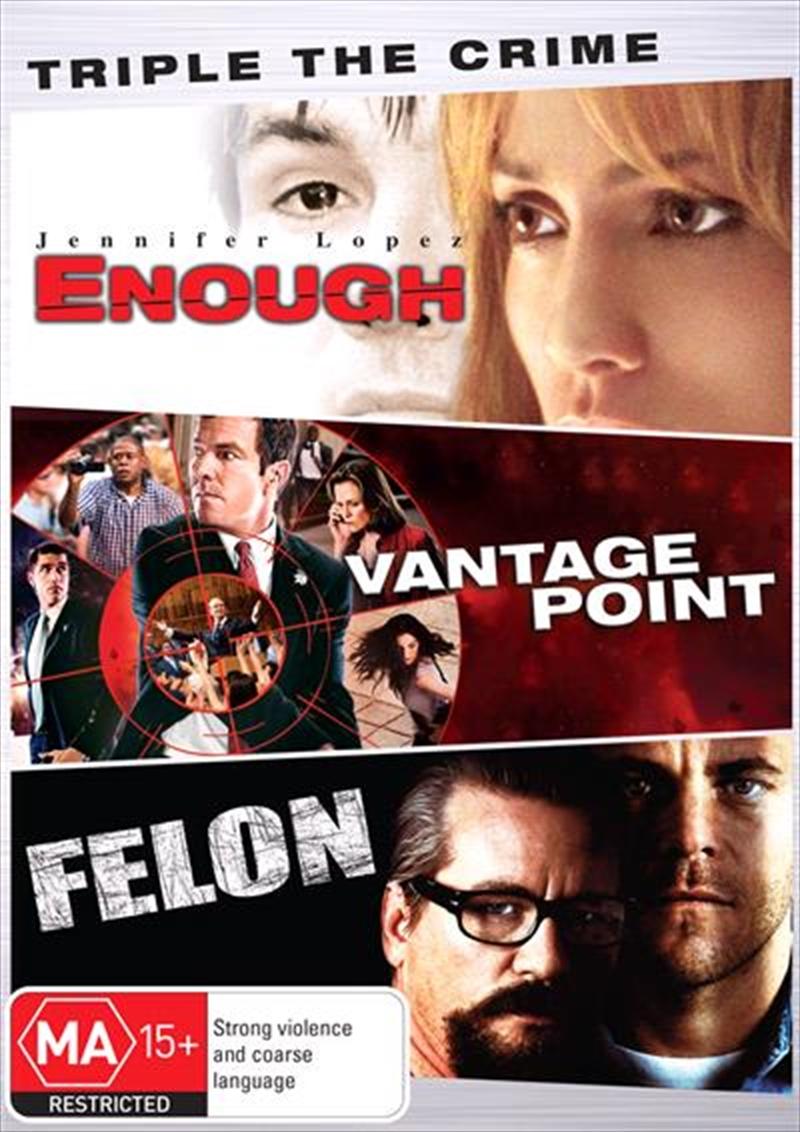 Enough/Vantage Point/Felon | DVD