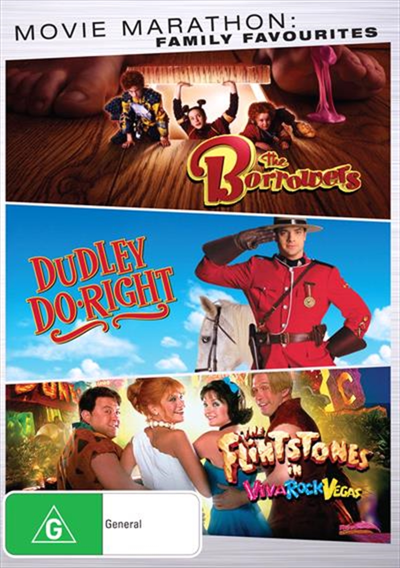 Borrowers/Dudley Do Right/The Flintstones In Viva Rock Vegas | DVD