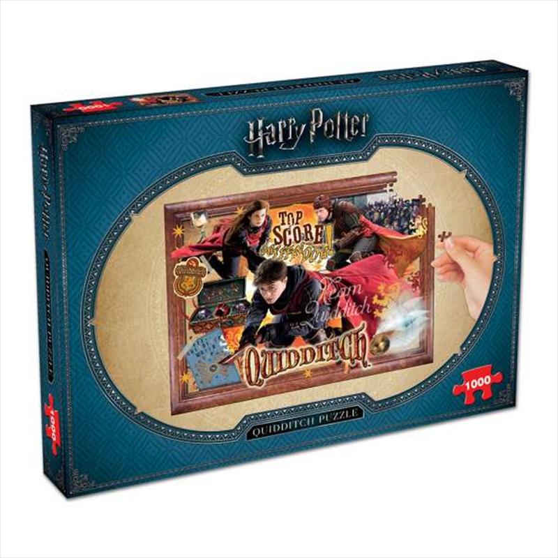 Quidditch 1000 Piece Puzzle | Merchandise