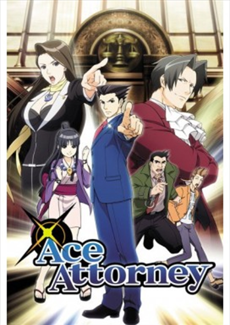 Buy Ace Attorney Key Art Poster In Posters Sanity