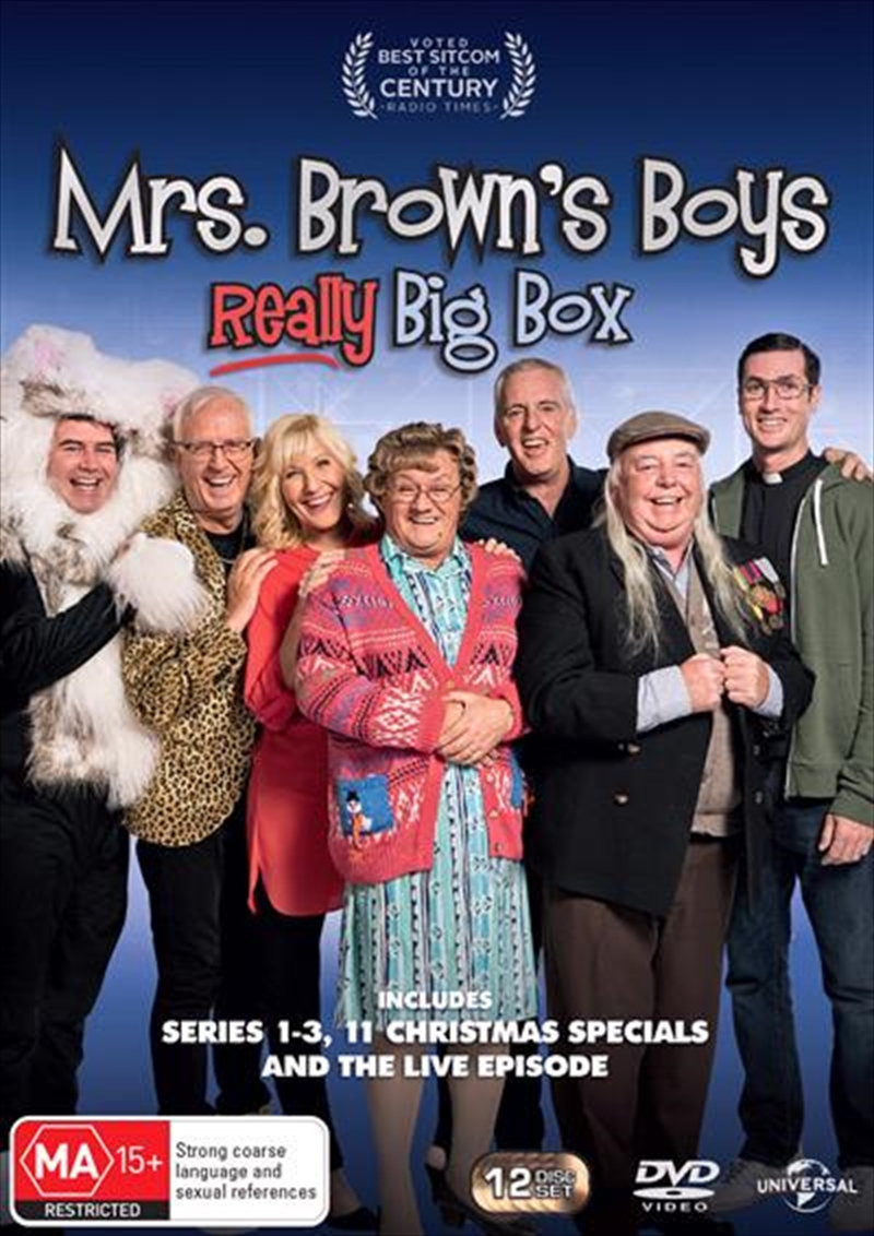 Mrs. Browns Boys - Really Big Box | DVD