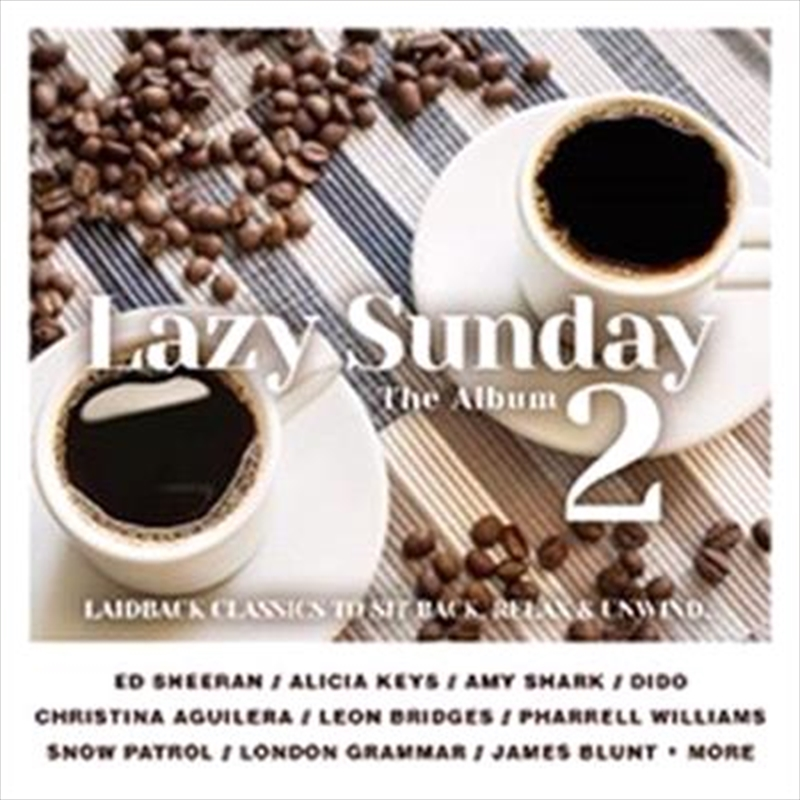 Buy Various Lazy Sunday 2 Cd Sanity Online