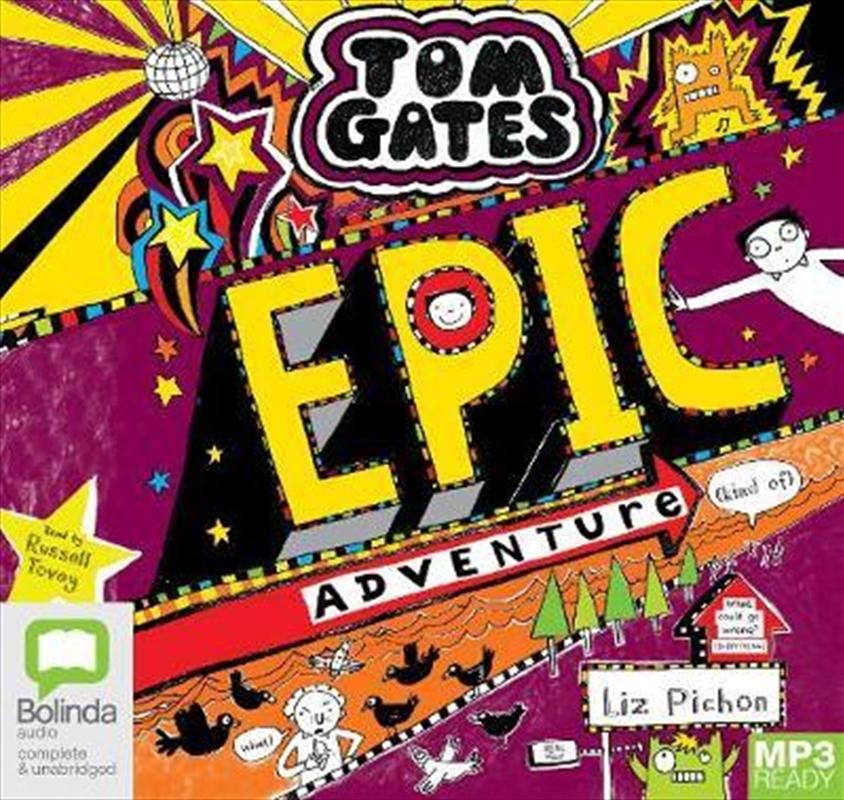 Epic Adventure (Kind Of)   Audio Book