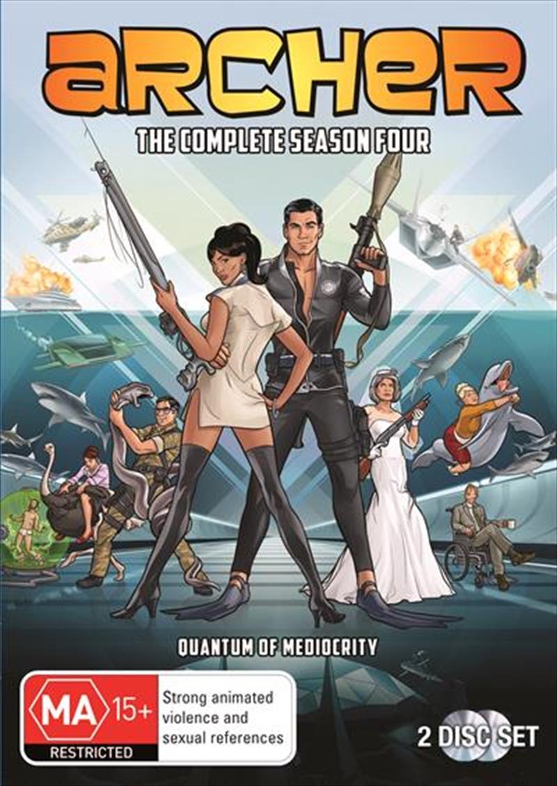 Archer - Season 4   DVD