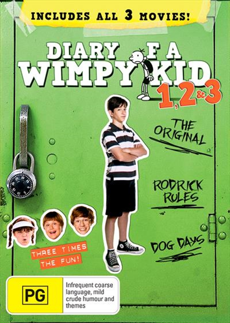 Diary Of A Wimpy Kid - 1-3 | DVD