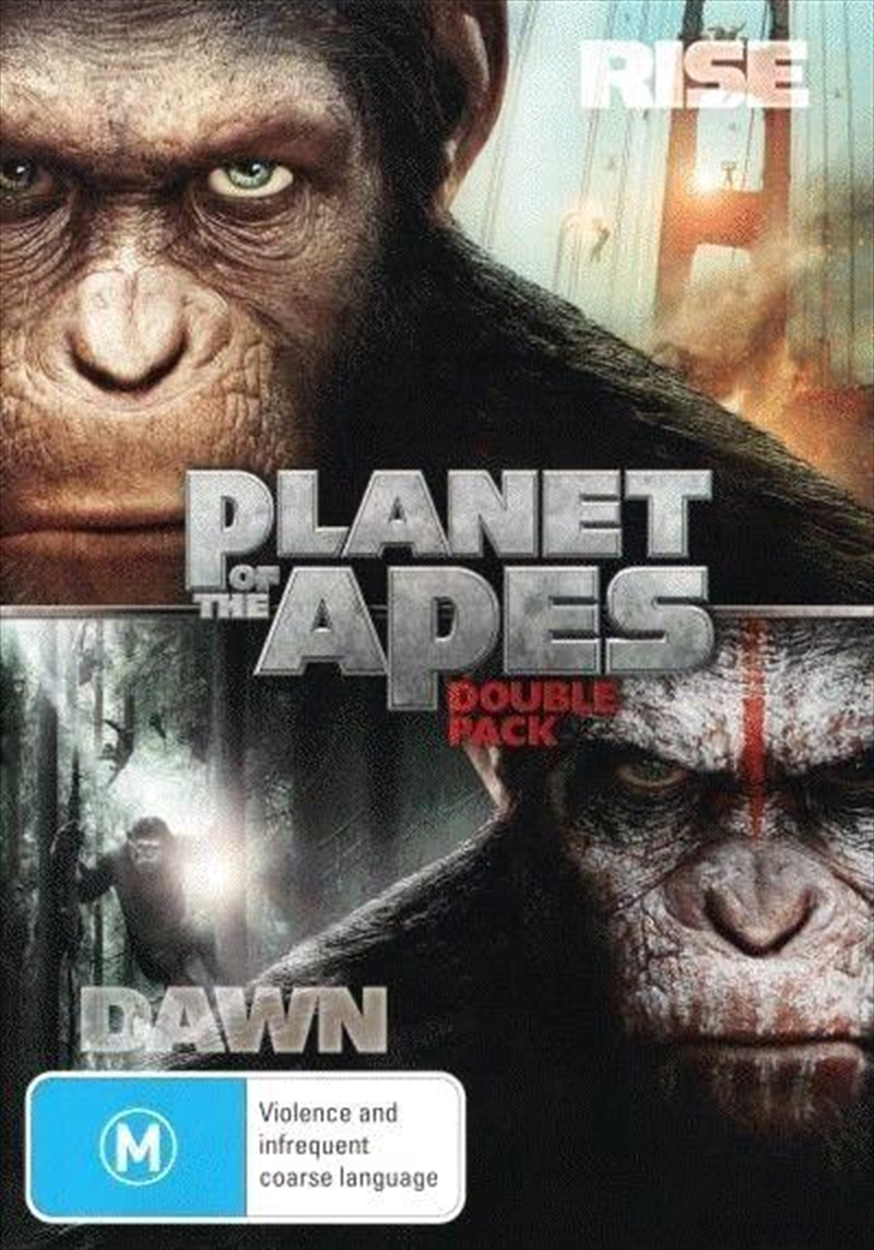 Rise Of The Planet Of The Apes / Dawn Of The Planet Of The Apes | DVD