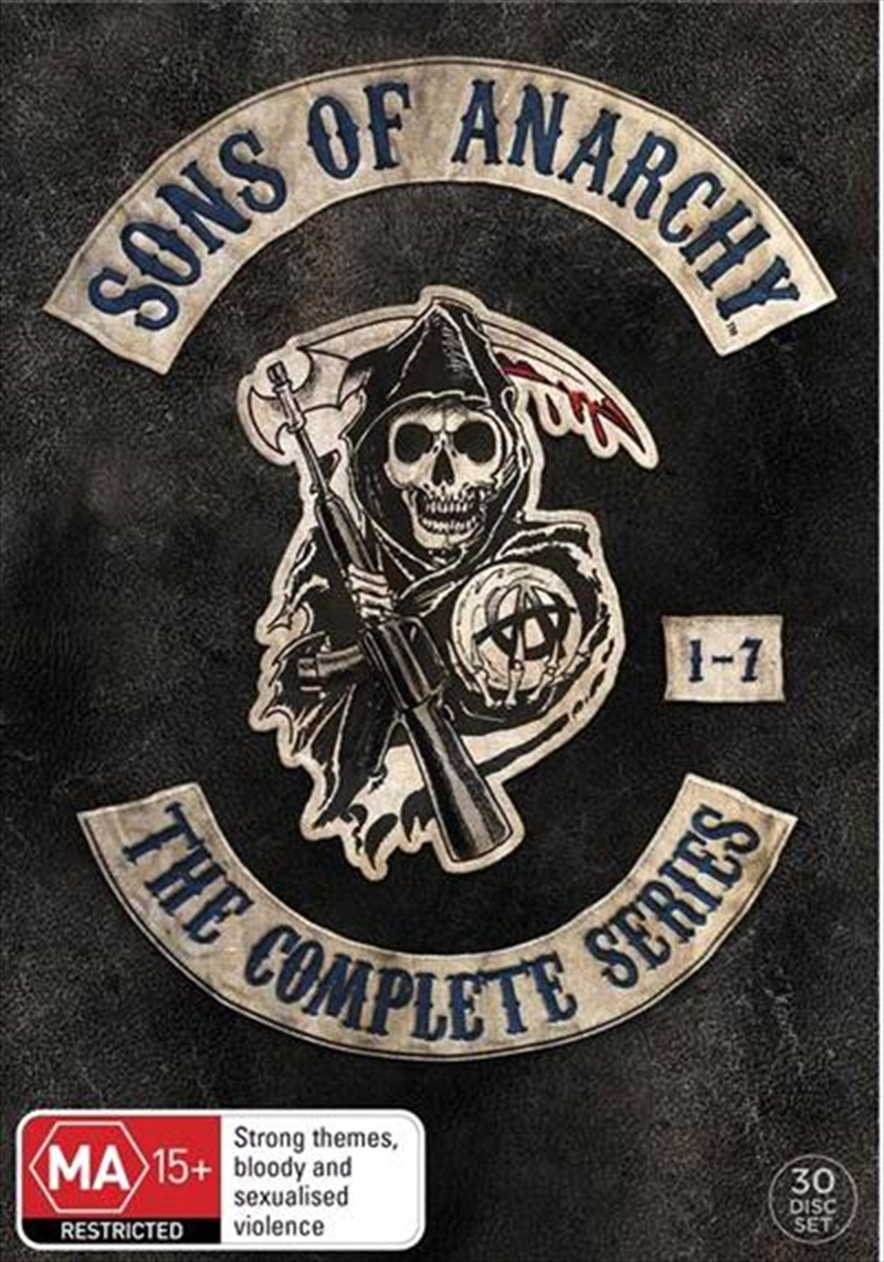 Sons Of Anarchy - Season 1-7 Boxset | DVD