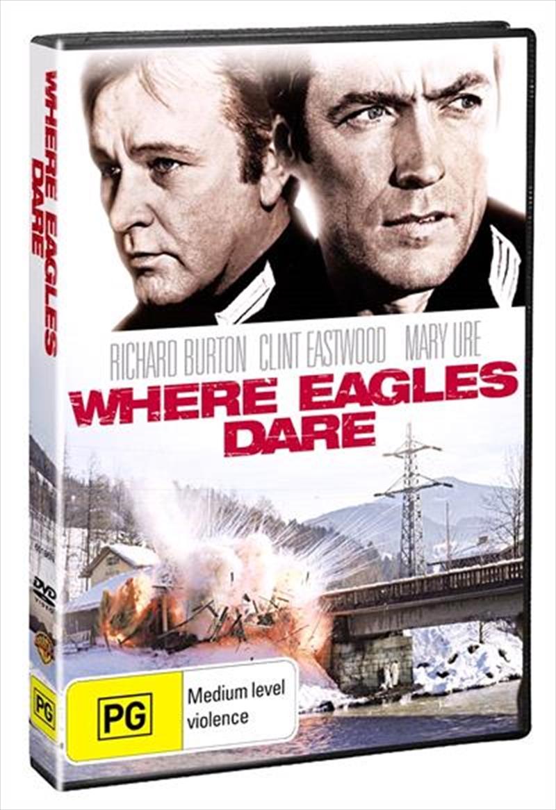 Where Eagles Dare | DVD