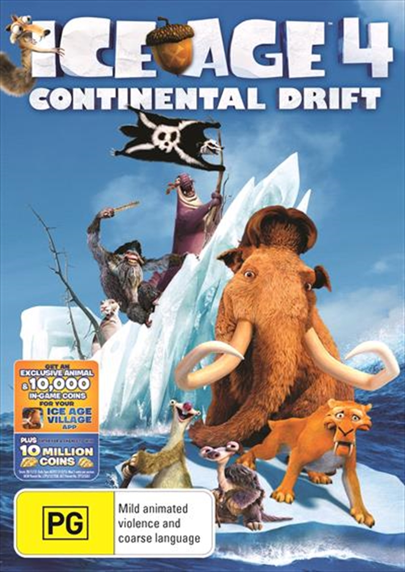 Ice Age 4 - Continental Drift | DVD