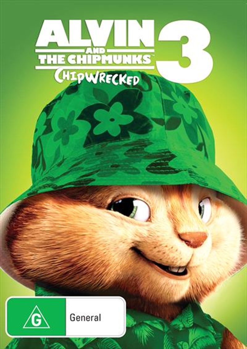 Alvin And The Chipmunks - Chipwrecked | DVD