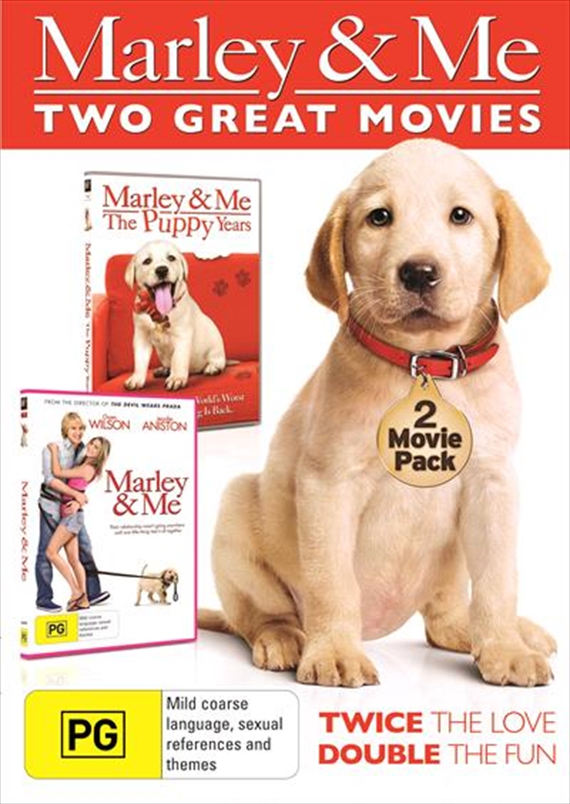 Marley And Me / Marley And Me: The Puppy Years | DVD