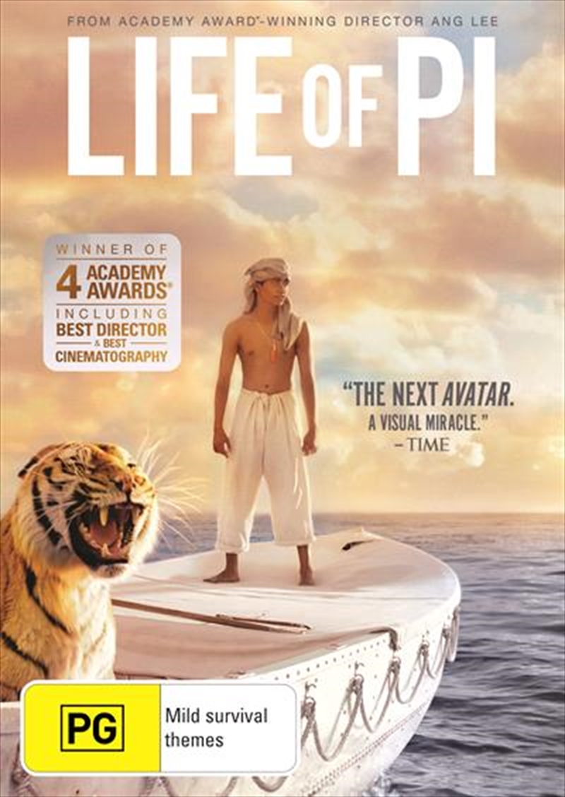 Life Of Pi: Pg 2012 | DVD