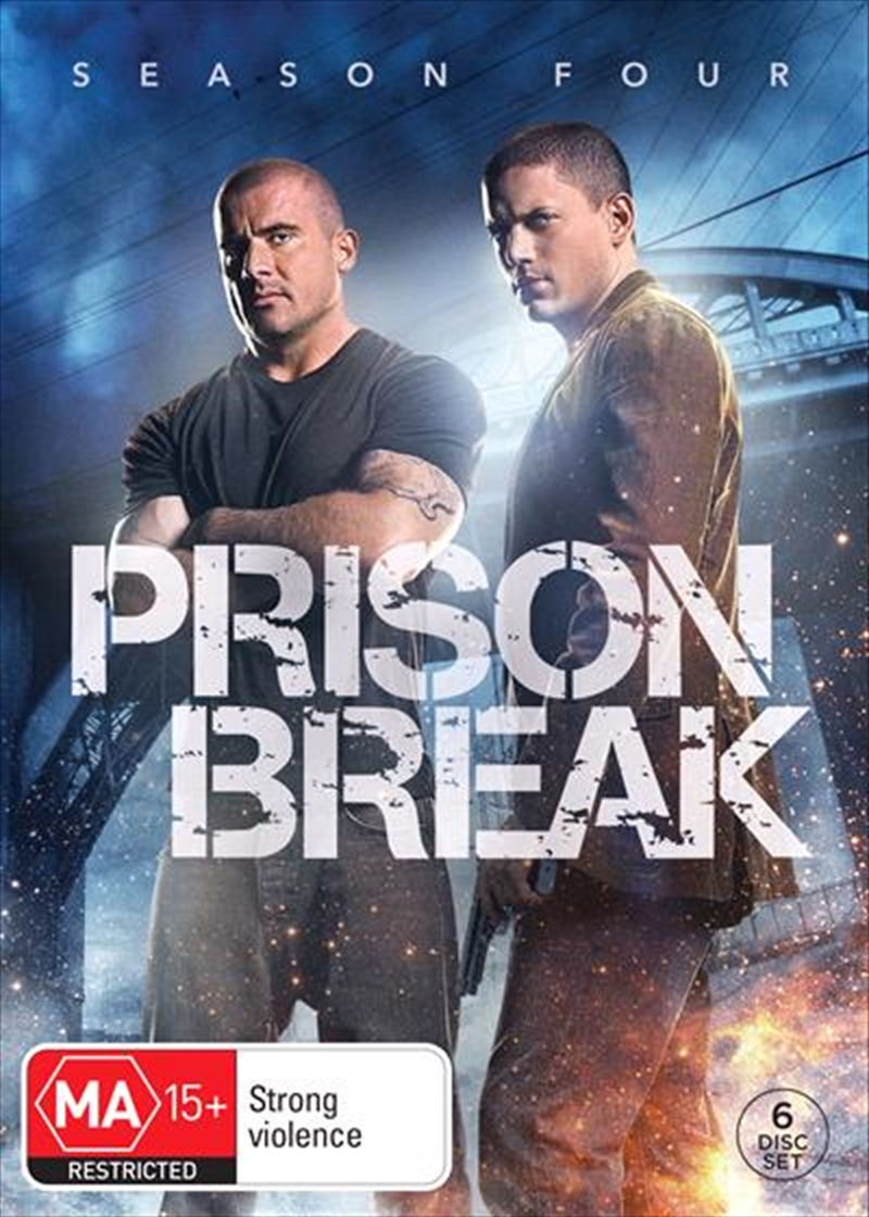 Buy Prison Break Season 4 On Dvd On Sale Now With Fast Shipping