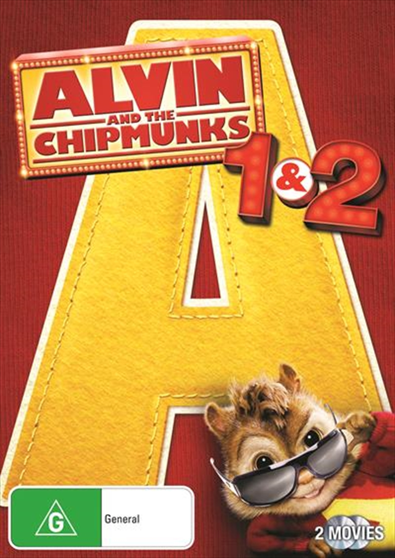 Alvin and the Chipmunks 1 & 2 | DVD