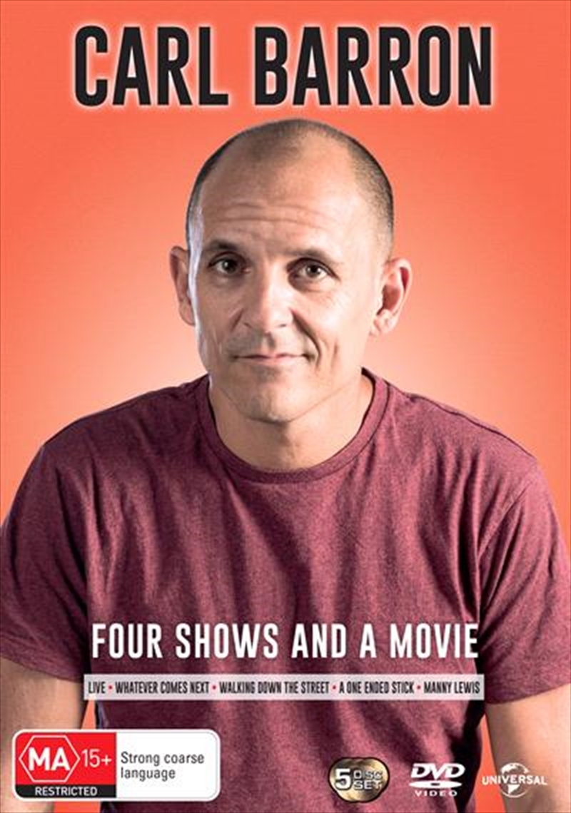 Carl Barron: Four Shows And A Movie | DVD