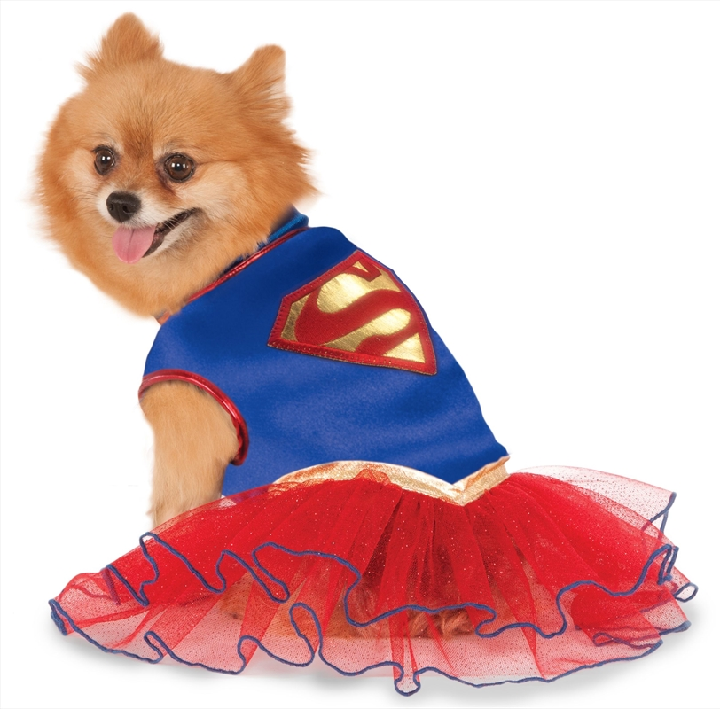 Supergirl Tutu Dress L | Apparel