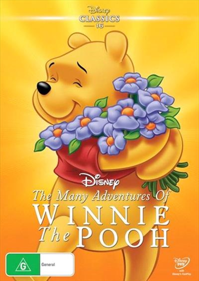 Many Adventures Of Winnie The Pooh   DVD