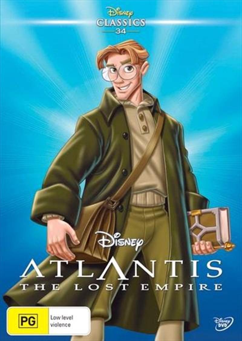 Atlantis: The Lost Empire | DVD