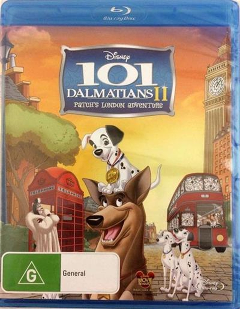 101 Dalmatians 2: Patch's London Adventure | Blu-ray