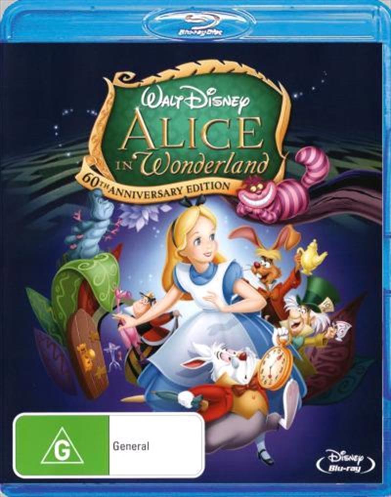 Alice In Wonderland - 60th Anniversary Edition | Blu-ray