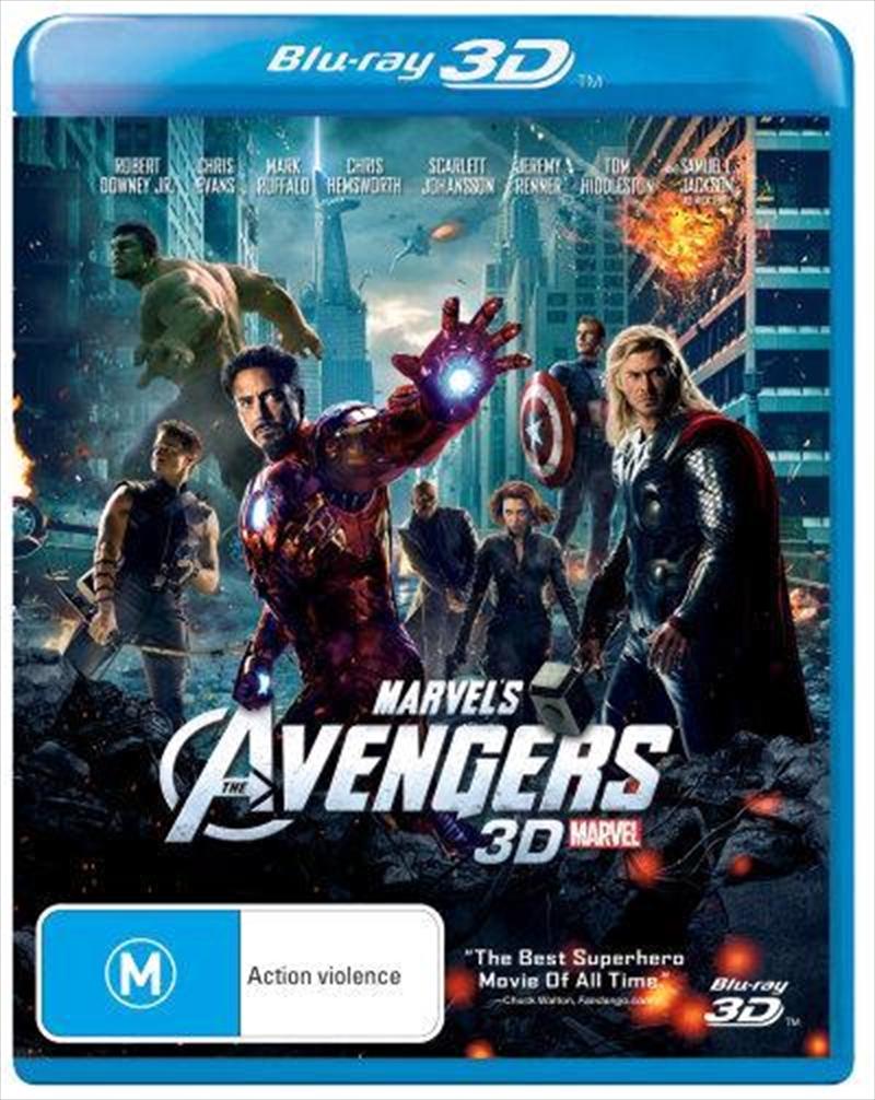 Avengers | Blu-ray 3D