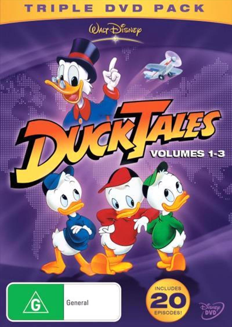 Ducktales - Vol 1-3 | Trilogy | DVD