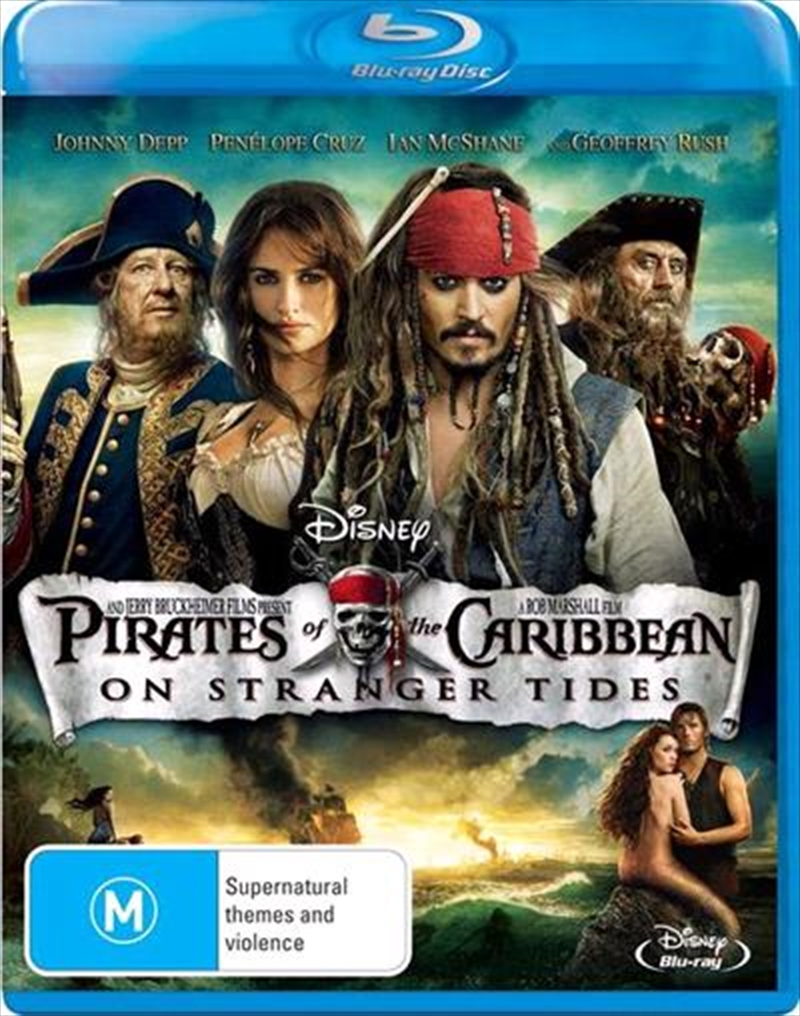 Pirates Of The Caribbean - On Stranger Tides | Blu-ray
