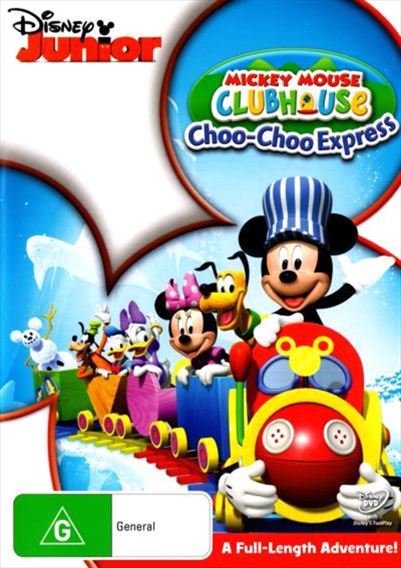 Mickey Mouse Clubhouse - Mickey's Choo Choo Express | DVD