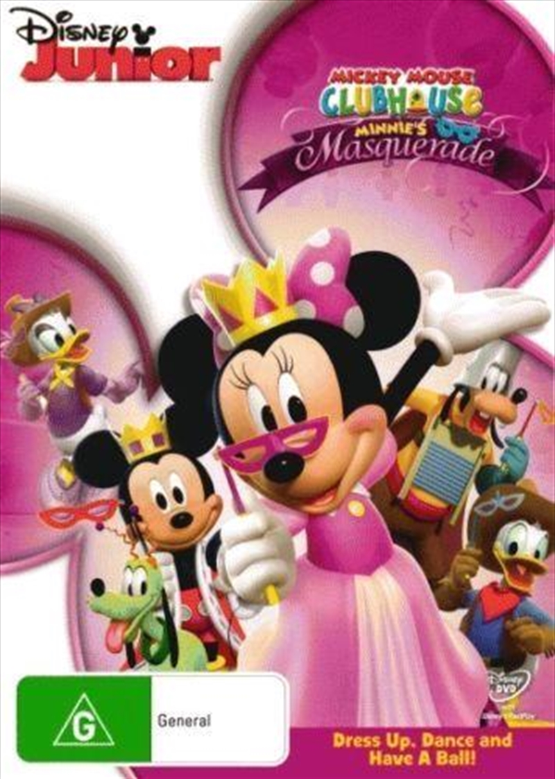 Mickey Mouse Clubhouse - Minnie's Masquerade | DVD