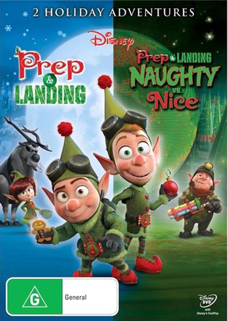 Prep and Landing / Naughty Vs. Nice | DVD