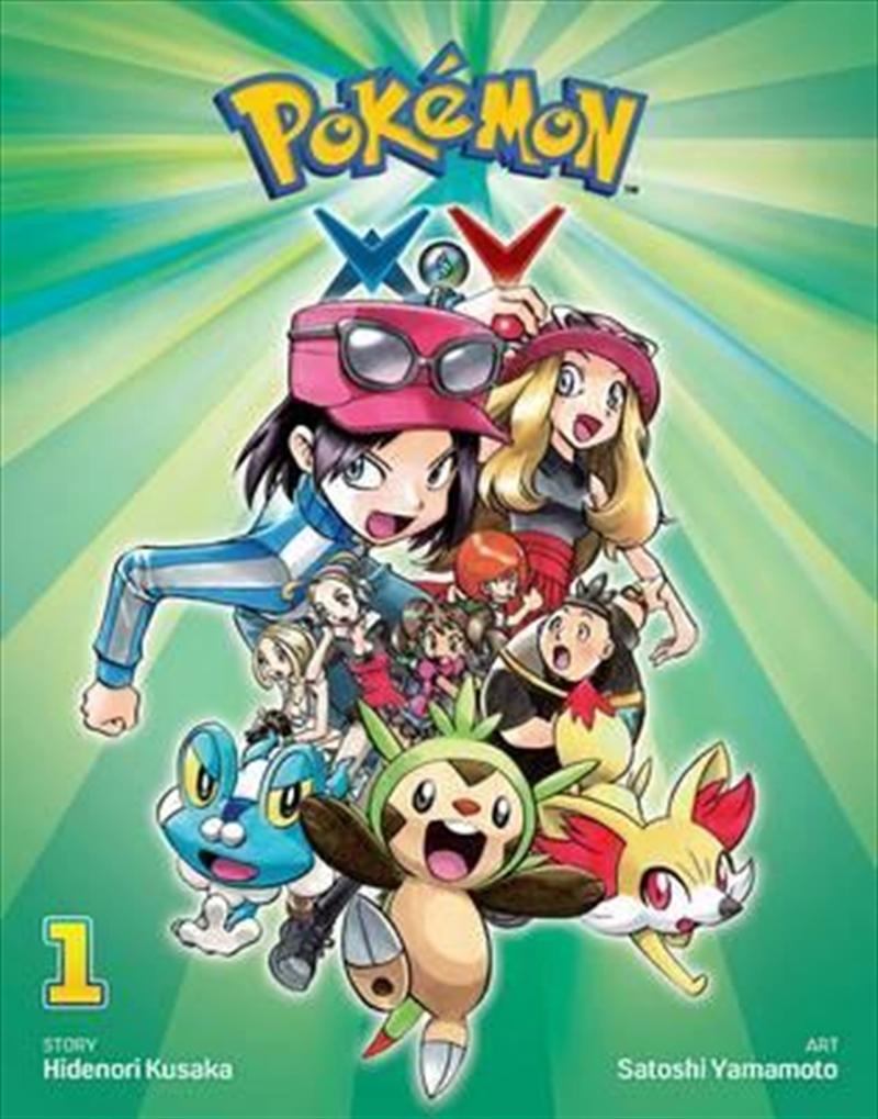 Pokemon XY: Vol 1   Paperback Book
