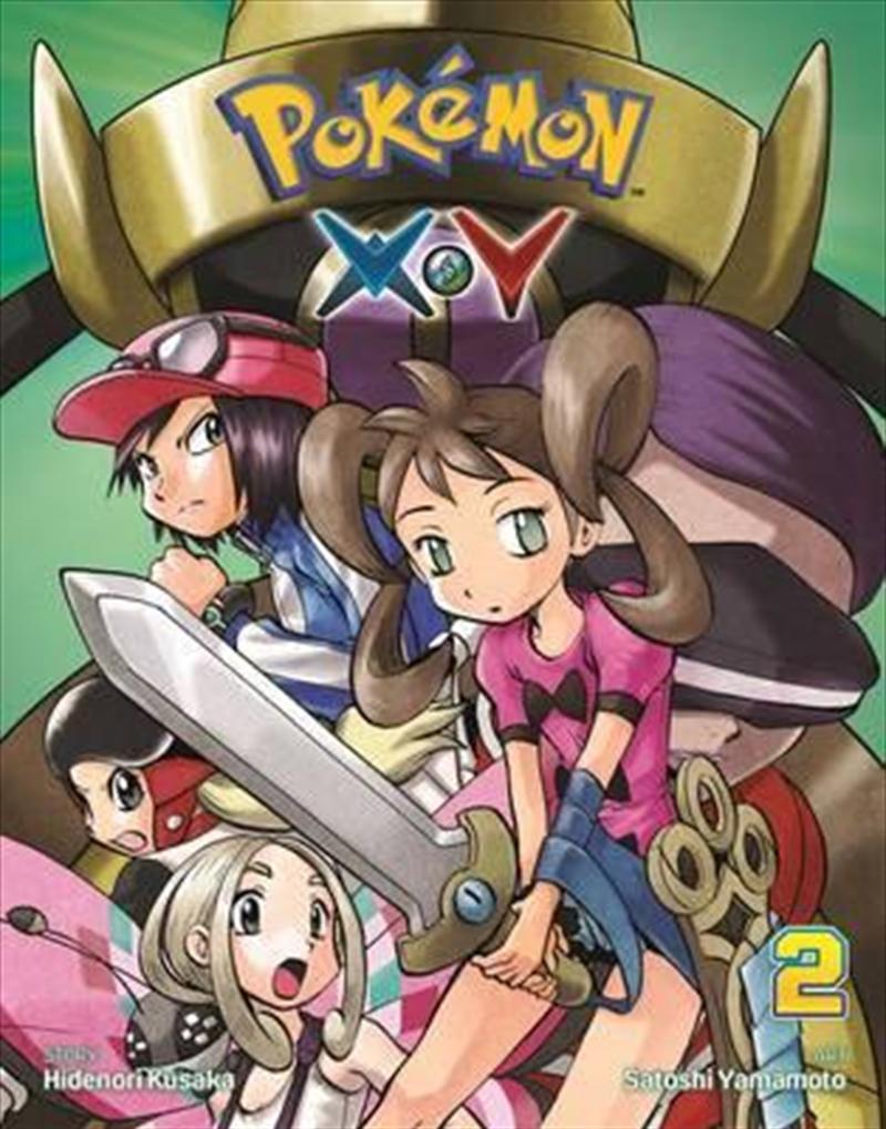 Pokemon XY: Vol 2 | Paperback Book