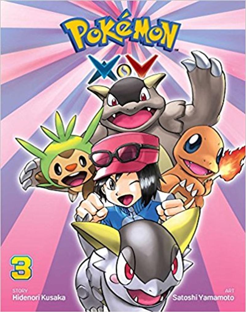 Pokemon XY: Vol 3   Paperback Book