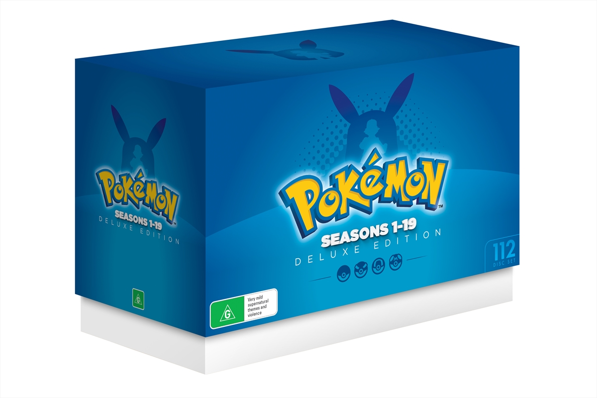 pokemon season 1 19 deluxe edition animated dvd sanity