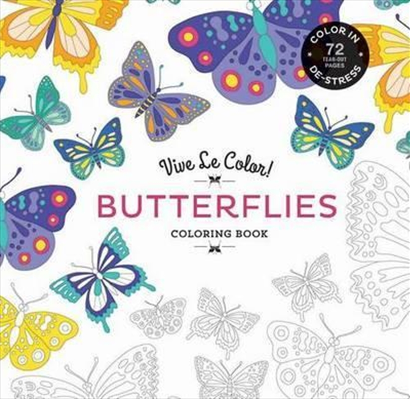 Butterflies Coloring Book | Colouring Book