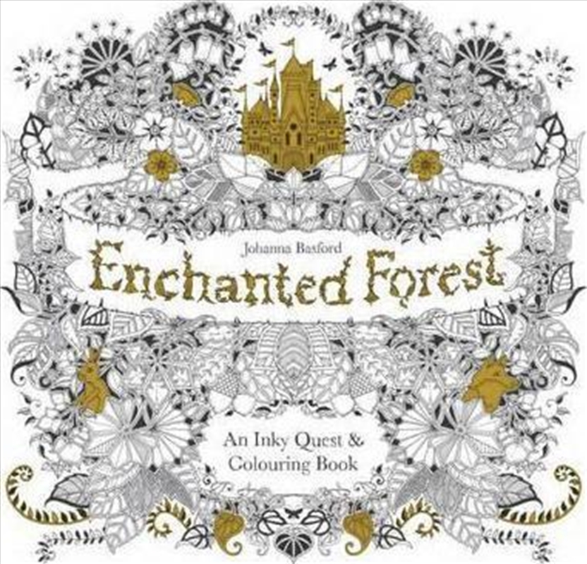 Enchanted Forest | Colouring Book
